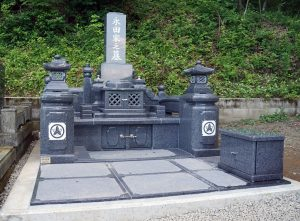 純和風のお墓
