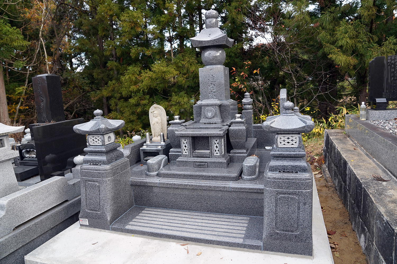 五輪塔のお墓